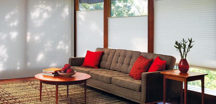 Shutter Blinds Residential Living Room