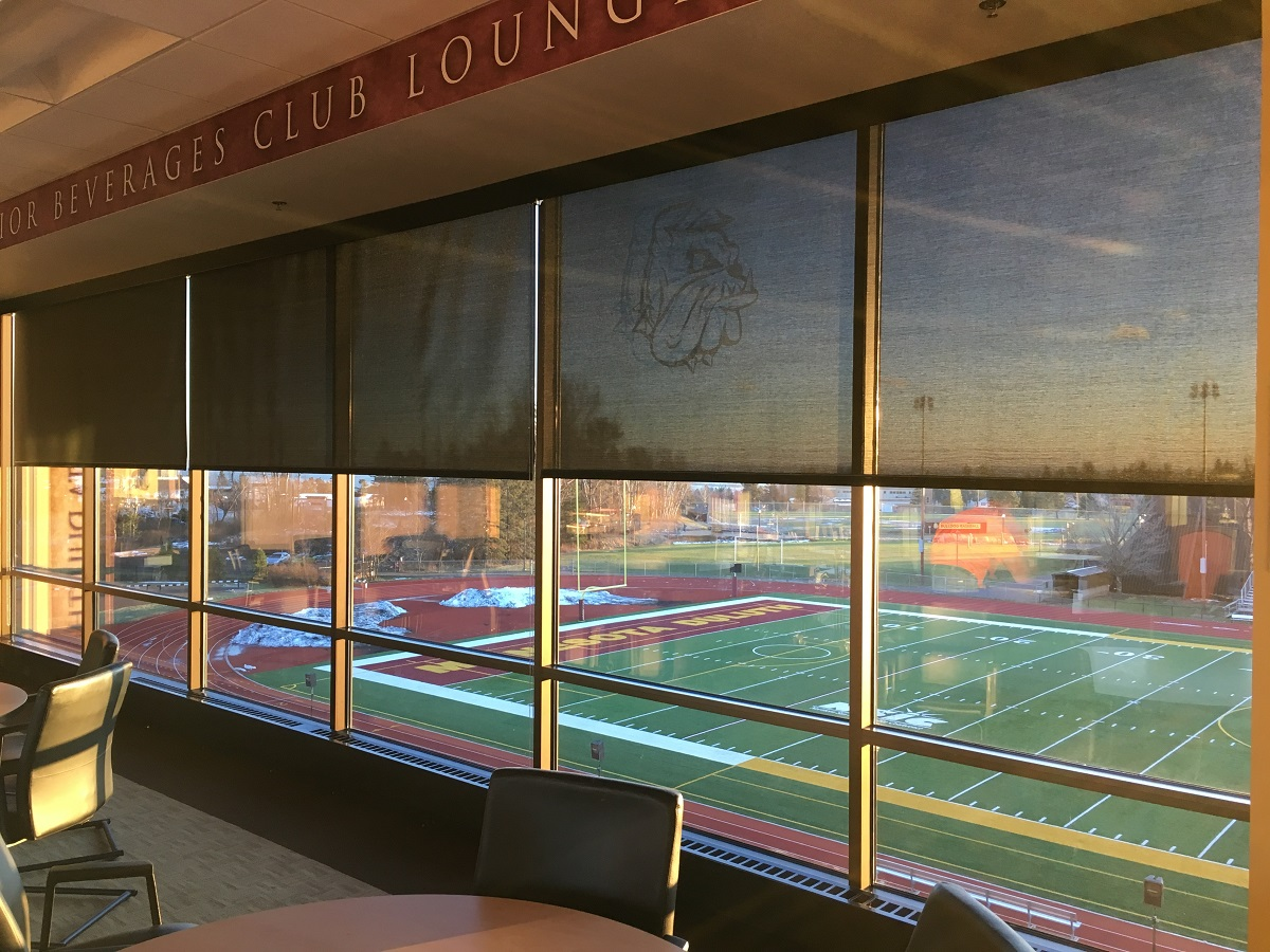 UMD Stadium Window Treatments