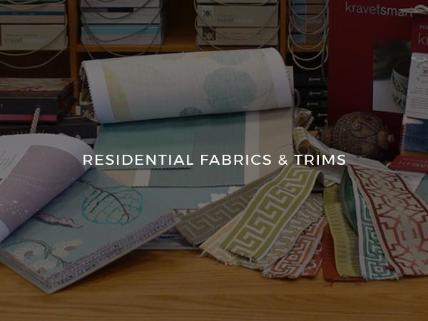 Residential Fabrics & Trims (Square #4)