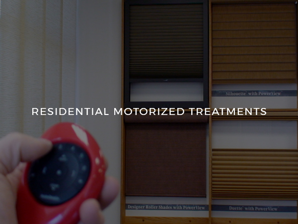 Residential Motorized Treatments (Square #4)
