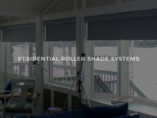 Residential Roller Shade Systems (Square #4)