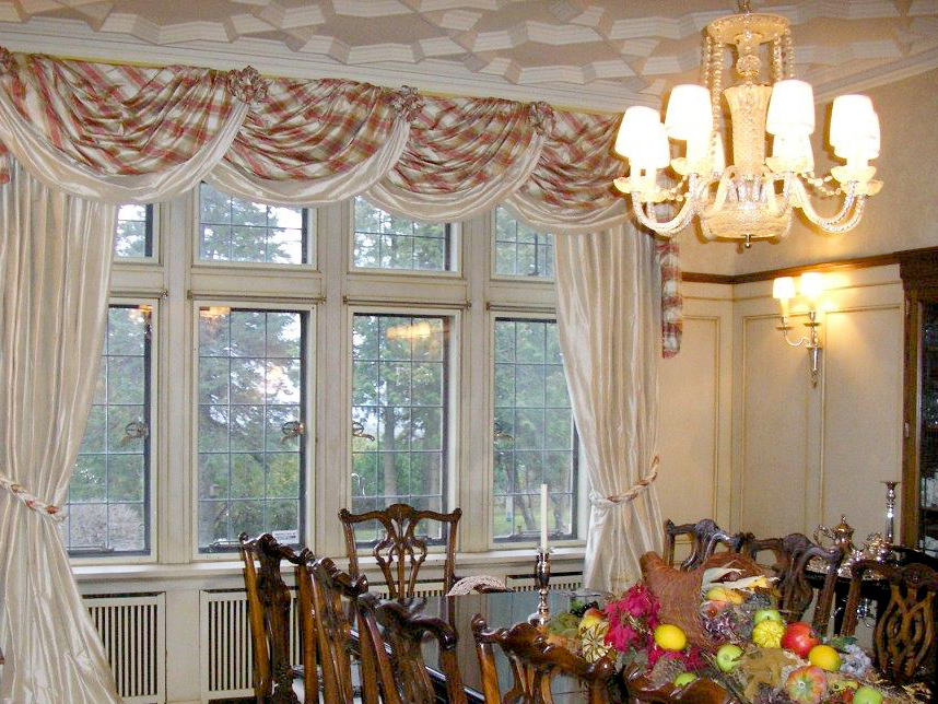 Residential Drapery in Home