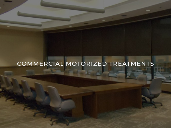 Commercial Motorized Treatments (Square #3)