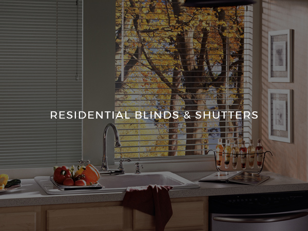 Residential Blinds & Shutters (Square)